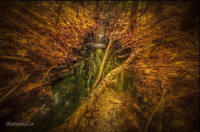 Photograph - Zoom Michigan Waterfalls by LeeAnn McLaneGoetz McLaneGoetzStudioLLCcom