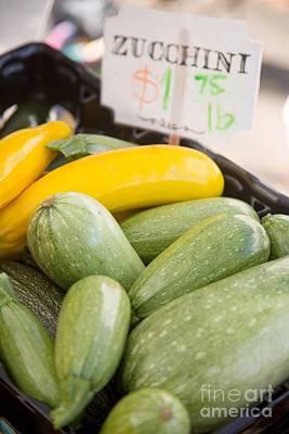 Zucchini Photograph - Zucchini by Rebecca Cozart