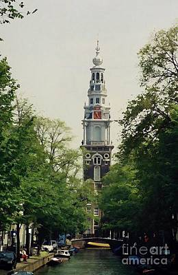 Onion Domes Digital Art - Zuiderkerk In Amsterdam by Peter Sandilands