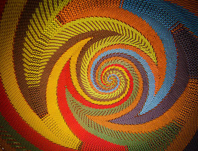 Photograph - Zulu Basket Detail  by Christy Usilton