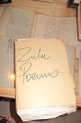 Photograph - Zulu Poems by Frank Chipasula
