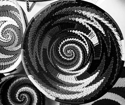 Photograph - Zulu Telephone Wire Bw by Christy Usilton