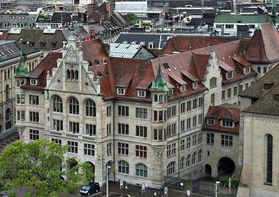 Photograph - Zurich Courthouse by Steven Richman