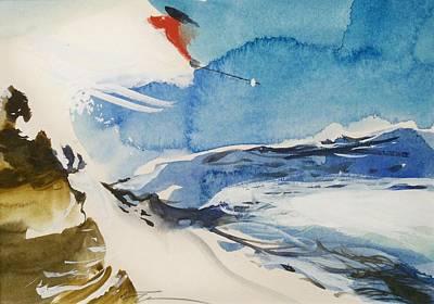Zurich Art Print by Ed  Heaton