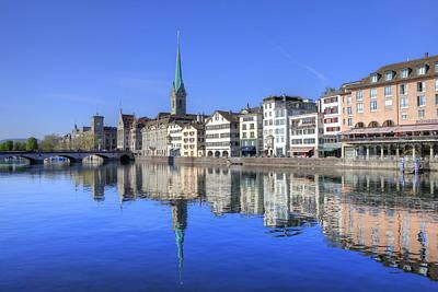 Zurich Art Print by Joana Kruse