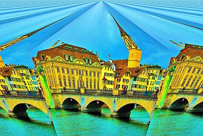 Photograph - Zurich by Steven Richman