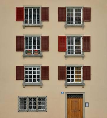 Door Photograph - Zurich Wuhre 5 by Steven Richman