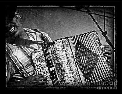 Zydeco Art Print by Jeanne  Woods