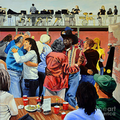 Painting - Zydeco Breakfast by Jock McGregor