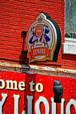 Photograph - Zywiec Beer by Mike Martin