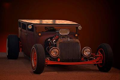 Photograph -  1925 Dodge Sedan Rat Rod by Tim McCullough