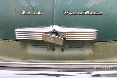 1951 Nash Ambassador Hydramatic Back Art Print