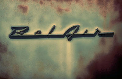 Photograph -  Bel Air Insignia by Tony Grider