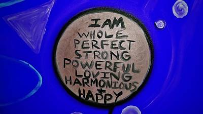 Greenworldalaska Photograph -  Blue Affirmation by Cory Green