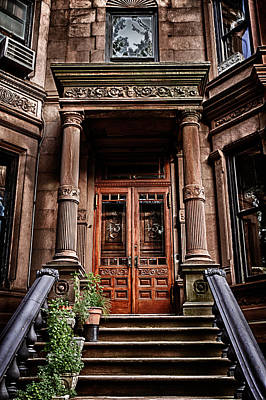 Photograph -  Brownstone 43 by Val Black Russian Tourchin