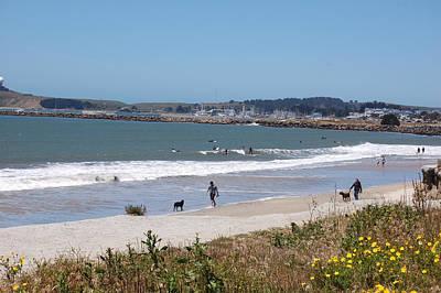 Photograph -  California Beach by Carolyn Donnell