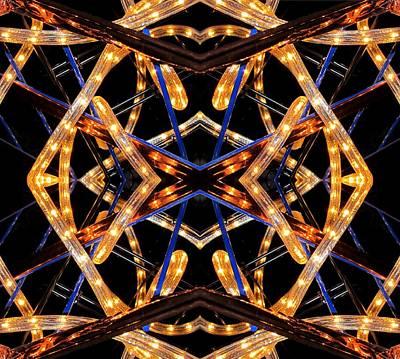 Design X Lights Art Print by  Andrew  Thomas