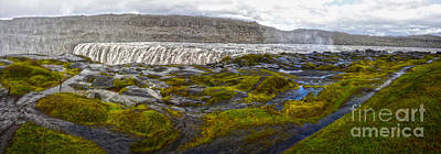 Photograph -  Detifoss Waterfall In Iceland - 03 by Gregory Dyer