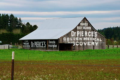 Photograph -  Dr. Pierce Barn 110514.97c1 by Ansel Price