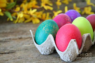 Easter Eggs Art Print by Darren Fisher