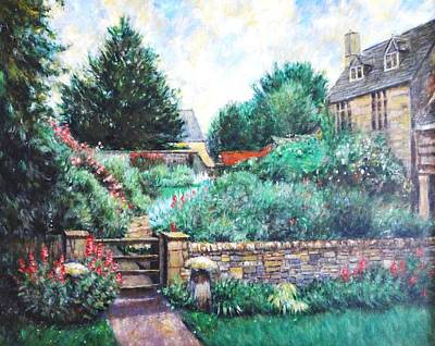 English Country Home 1 Art Print by    Armand  Storace