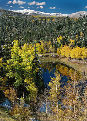Fall Color On Bobcat Pass Art Print