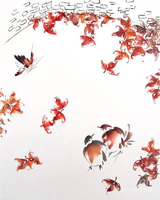 Fall Sensation Art Print by Ming Yeung