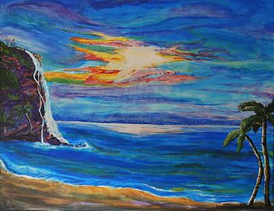 Finding Peace Again Art Print by Tifanee  Petaja