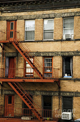 New York City Fire Escapes Photograph -  Fire Escapes - Nyc by Madeline Ellis