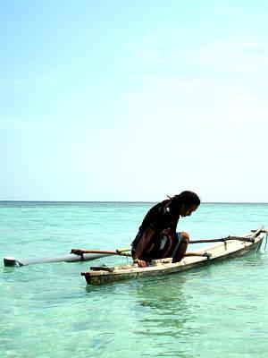 Jawa Photograph -  Fisher In Karimun Jawa by Gai Sin Liem