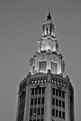 Photograph -  General Electric Tower 11529 by Guy Whiteley