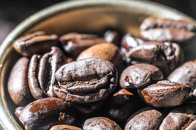 Harrar Coffee Close Up  Art Print by Gevon Servo
