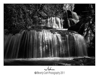 Photograph -  Intense Falls by Beverly Cash