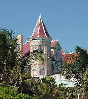 Painting -  Key West House by Audrey Peaty
