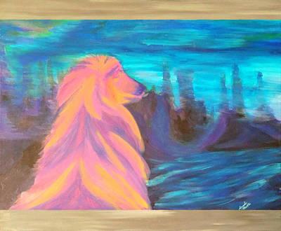 Lassie Art Print by Hatin Josee