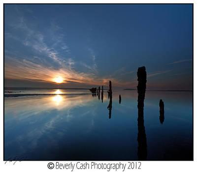 Photograph -  Llanfairfechan Sunset by Beverly Cash