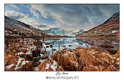 Photograph -  Llyn Ogwen by Beverly Cash