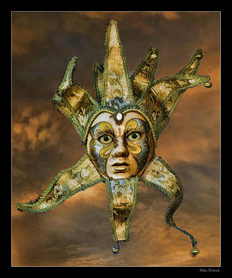 Photograph -  Mardi Gras Mask  by Blake Richards