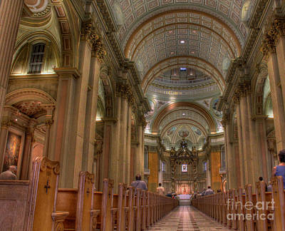 Photograph -  Mary Queen Of The World Cathedral by Lee Dos Santos