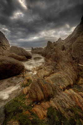 Photograph -  Moody Rocks by Beverly Cash