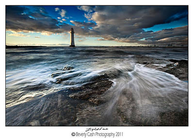 Photograph -  New Brighton Lighthouse by Beverly Cash