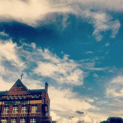 Victorian Wall Art - Photograph - #небо #newtown #sky ... #cloudporn by Alexandra Cook