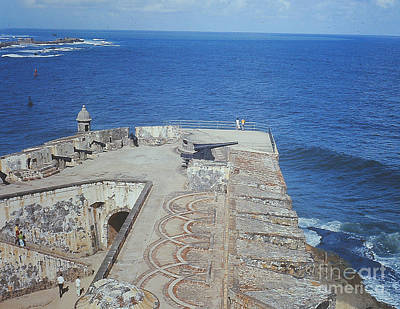 Photograph -  Old Fort In Puerto Rico by Merton Allen