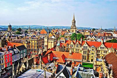 Photograph -  Oxford Cityscape by Yhun Suarez