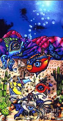 Pacifica In The Desert Art Print