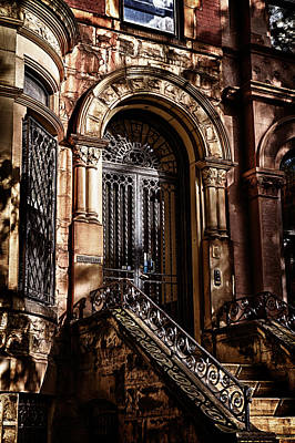 Photograph -  Park Slope Building 33 Take 2 by Val Black Russian Tourchin