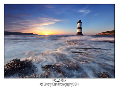 Photograph -  Penmon Point Lighthouse by Beverly Cash
