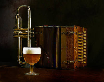 Beer Photograph -  Polka Time by David and Carol Kelly