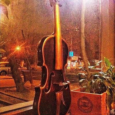 Violin Photograph - Скрипка #porusski #violin by Marianna Garmash