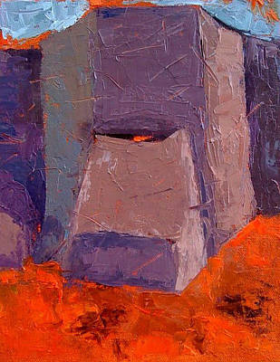 Painting -  Ranchos De Taos by Sylvia Miller